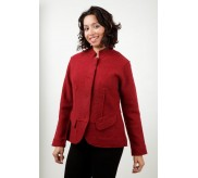 Boiled Wool Jacket - 10966