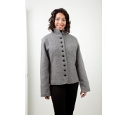 Boiled Wool Jacket - JANET