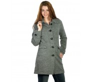 Boiled Wool Coat - 109241